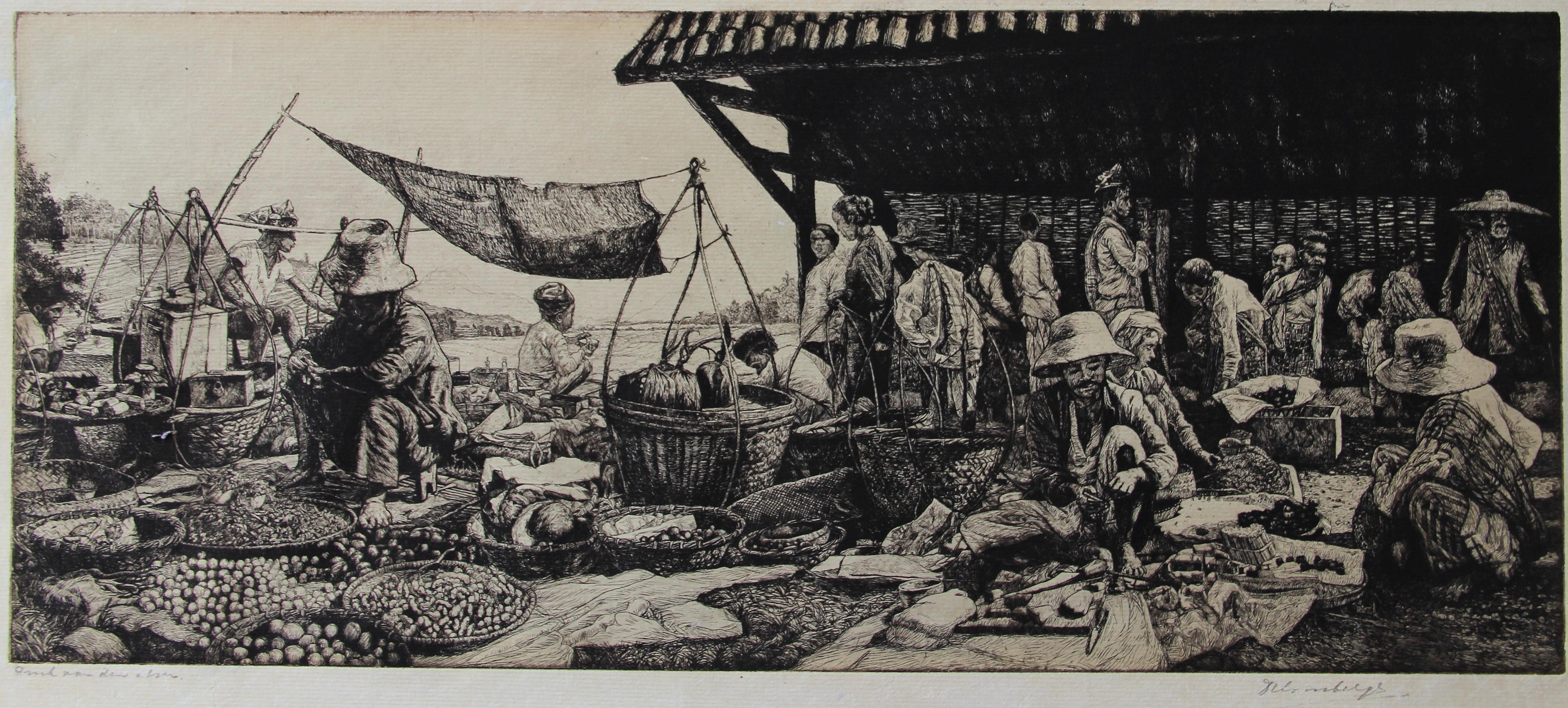 Pasar in Nederlandsch Indië- Dirk Homberg