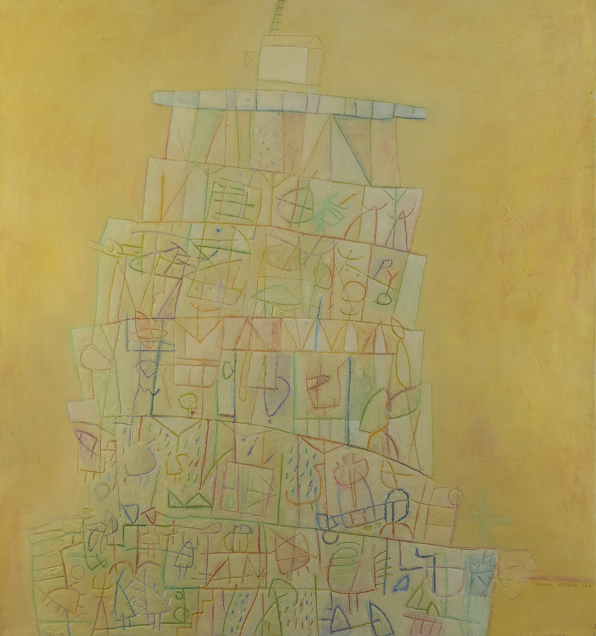 Babylonia Tower- Qassim Alsaedy