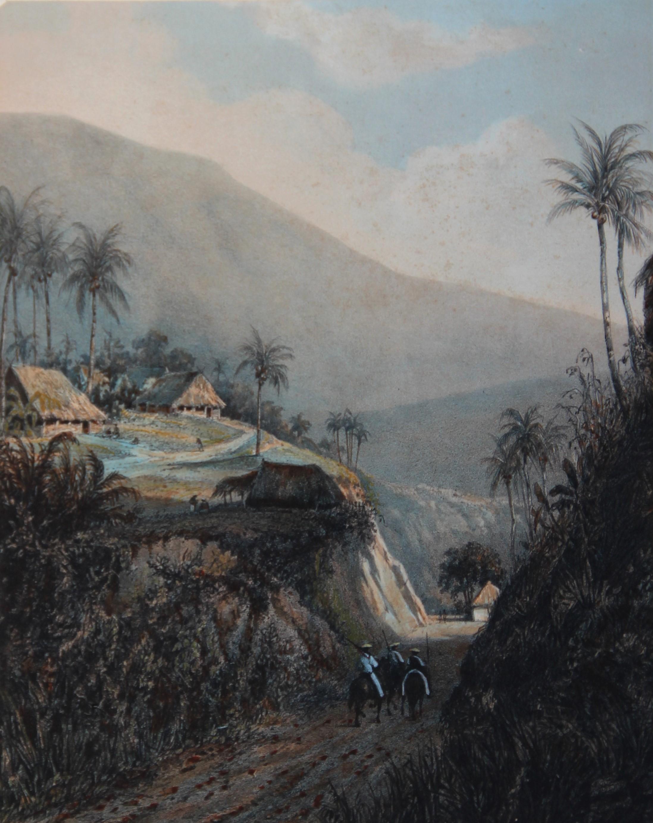 Java, weg van Buitenzorg naar de vallei van den Salakh, Residentie Buitenzorg- Abraham (Ab) Salm