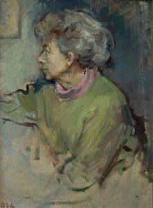 Zelfportret Frida Holleman