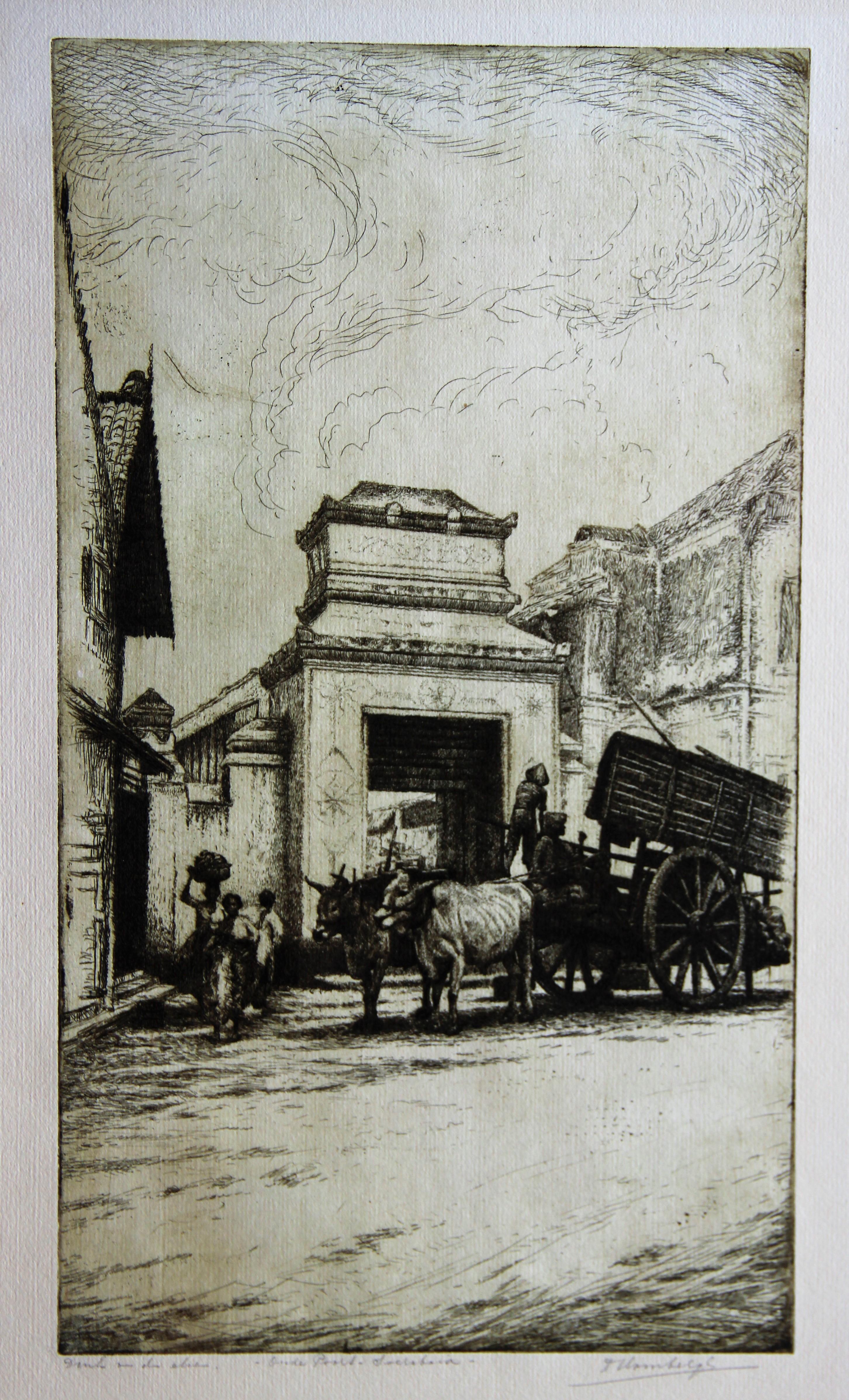 Oude Poort, Soerabaja- Dirk Homberg