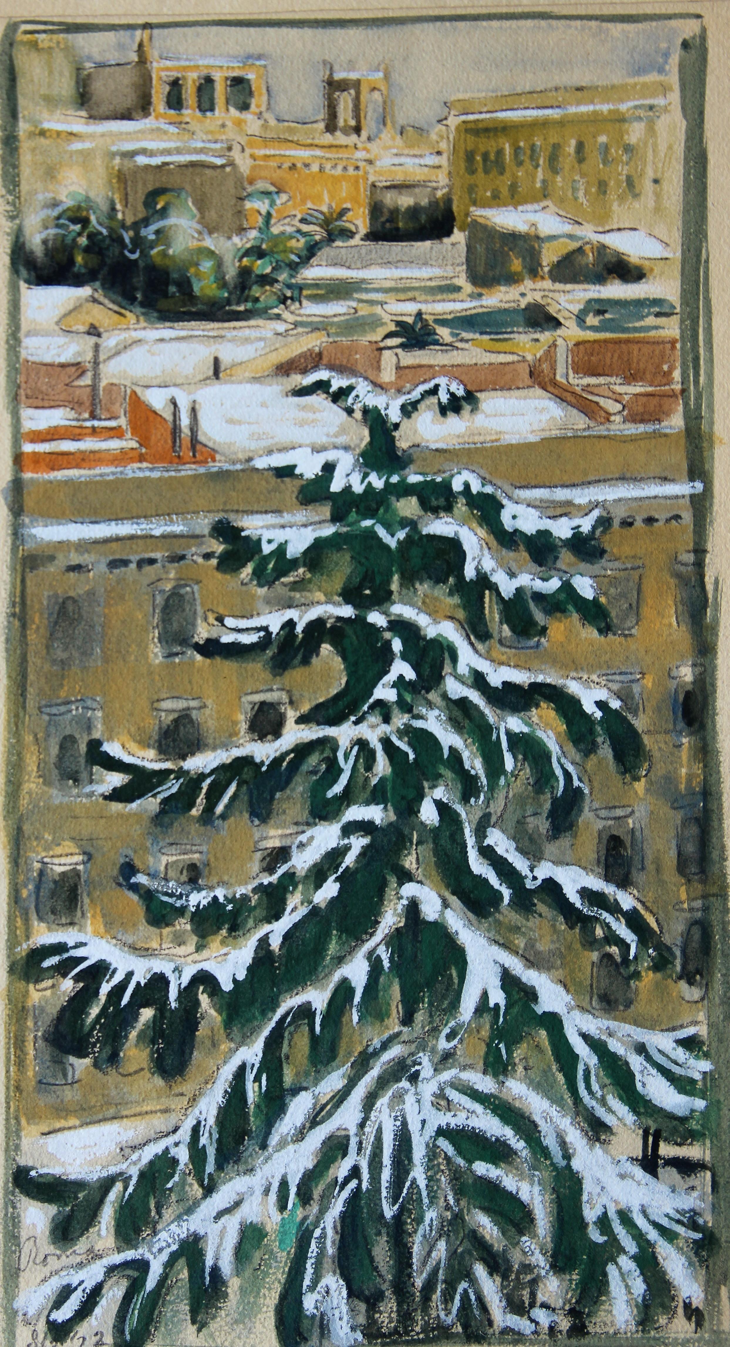 Winter in Rome- W.O.J. Nieuwenkamp