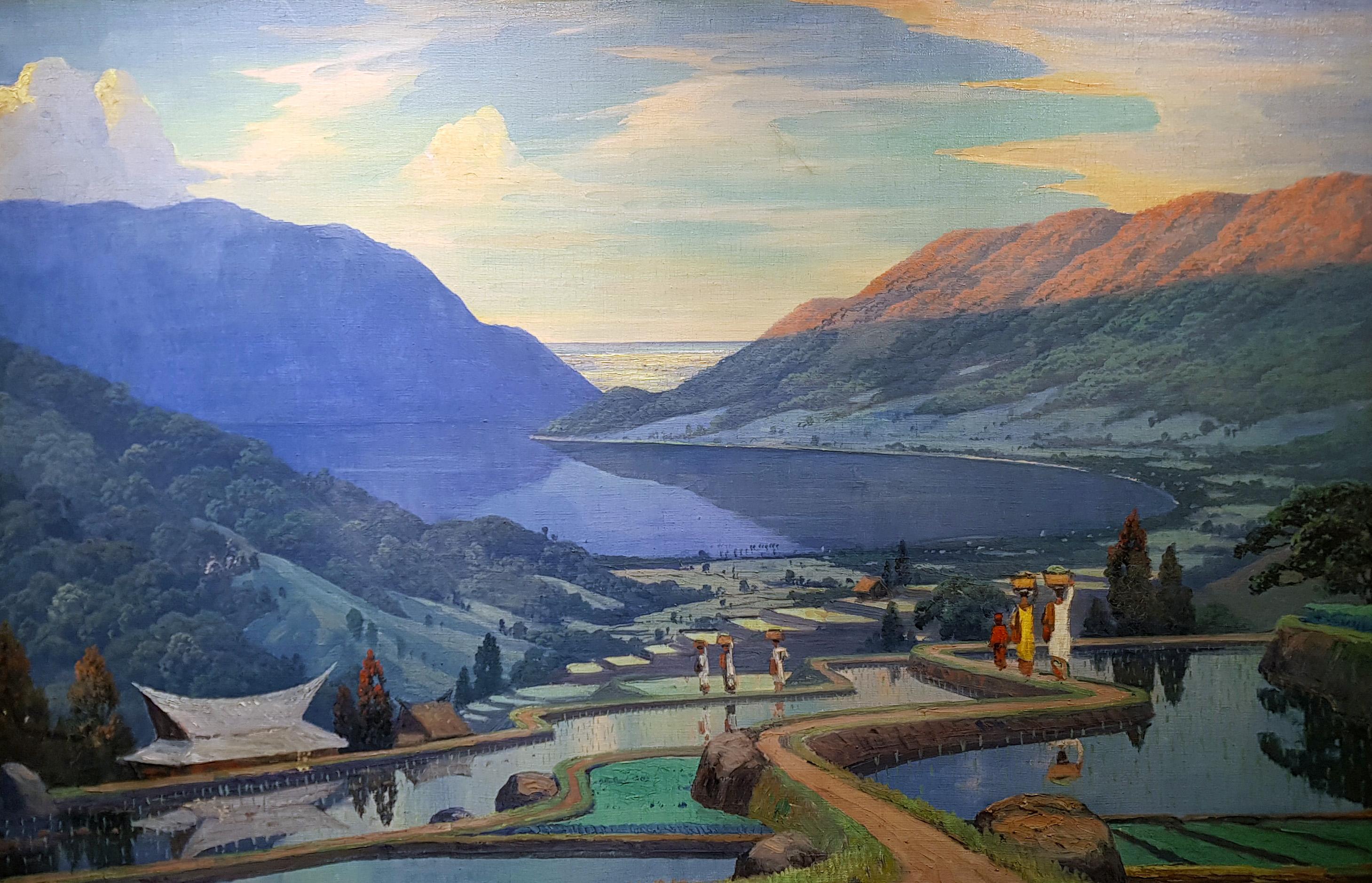 Sawa's in een landschap- Leo Eland