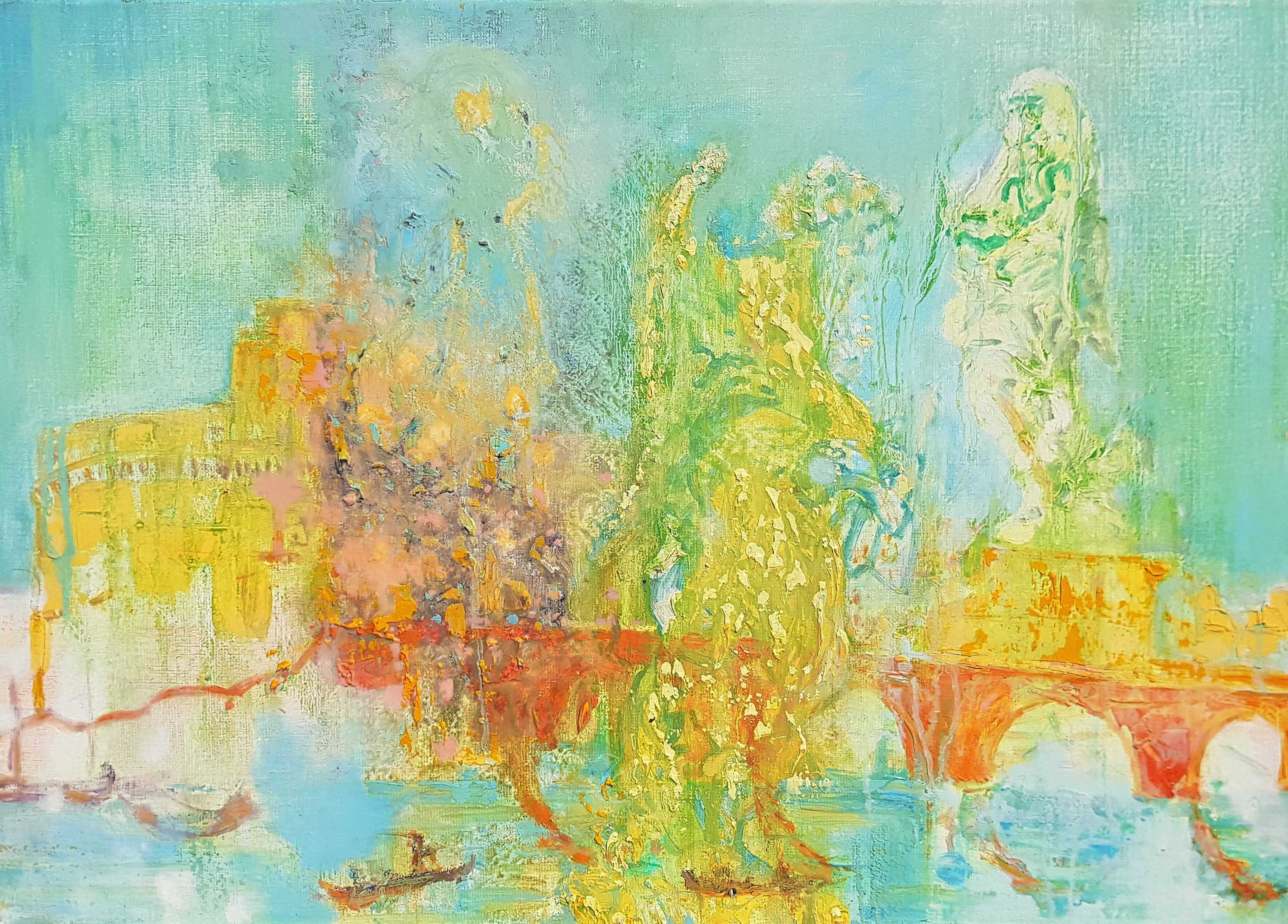 Engelenburcht, Gaspare Vanvitteli's Rome- Uwe Poth