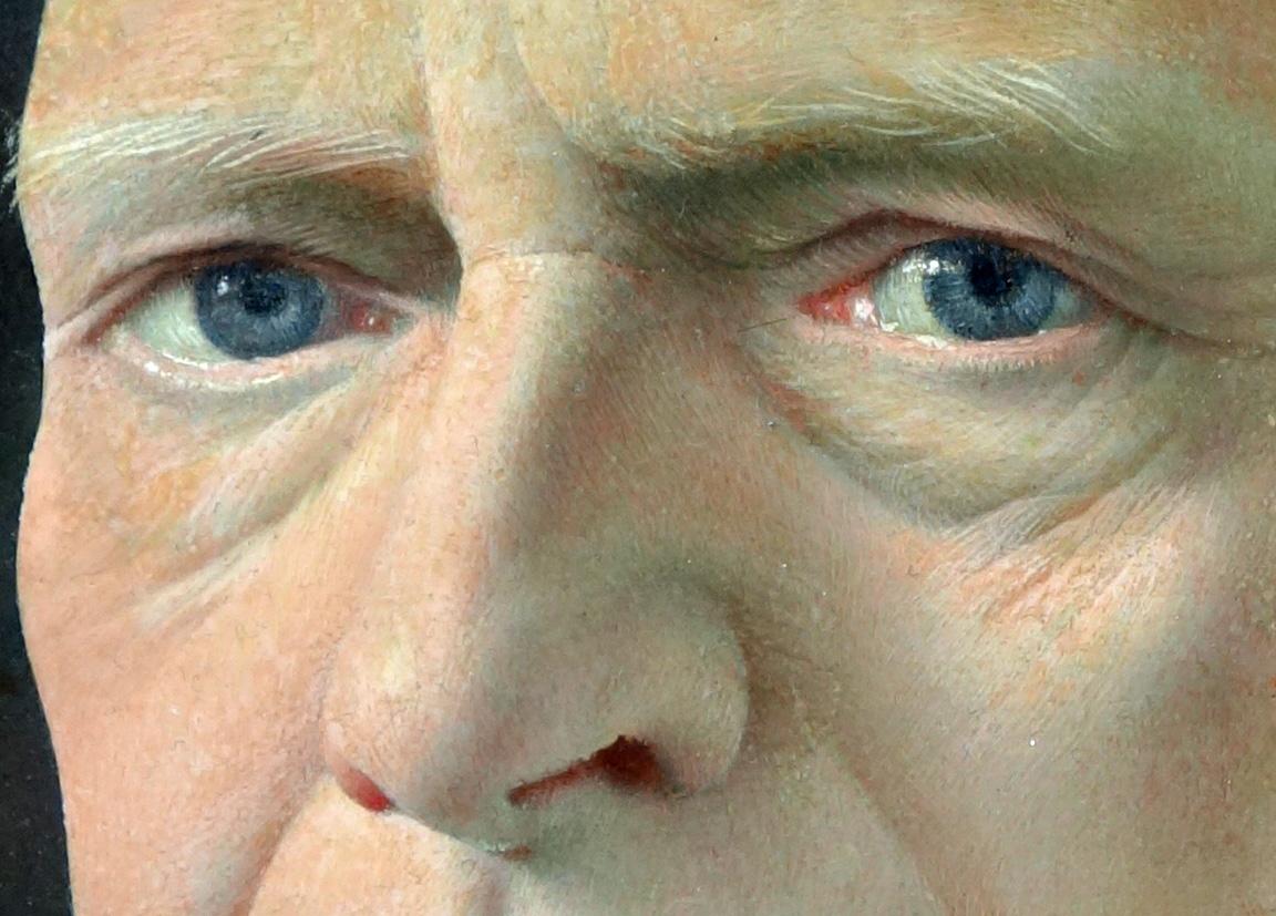 Pyke Koch portret van P.H. Bogaard- Pyke Koch