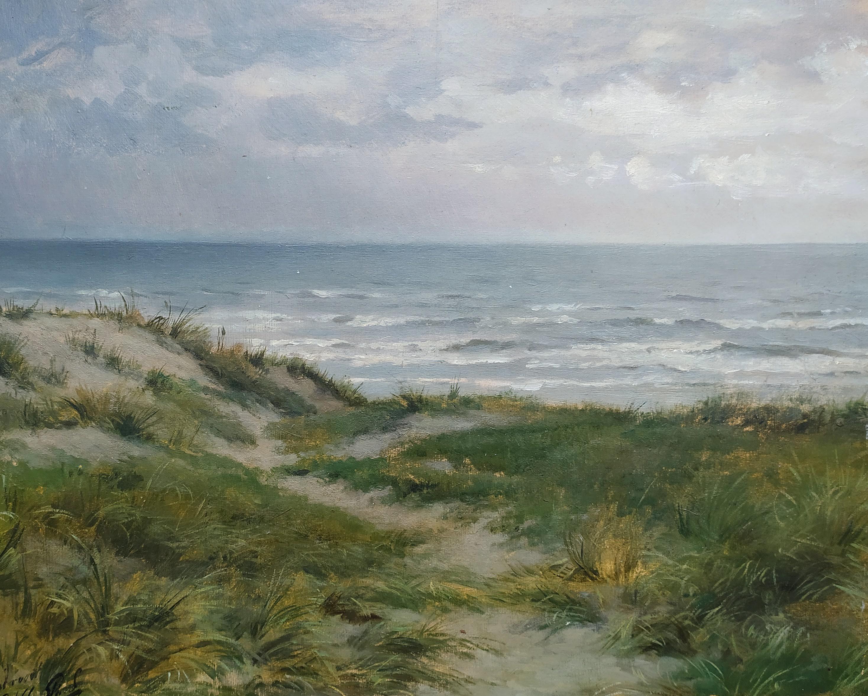 Het spel van wolken, wind regen, zee, strand, duinen en licht bij Zandvoort- Philip Lodewijk Jacob Frederik Sadée