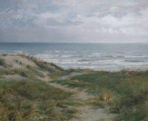 Philip sadee duinlandschap bij Zandvoort 2 kunstexpert.com