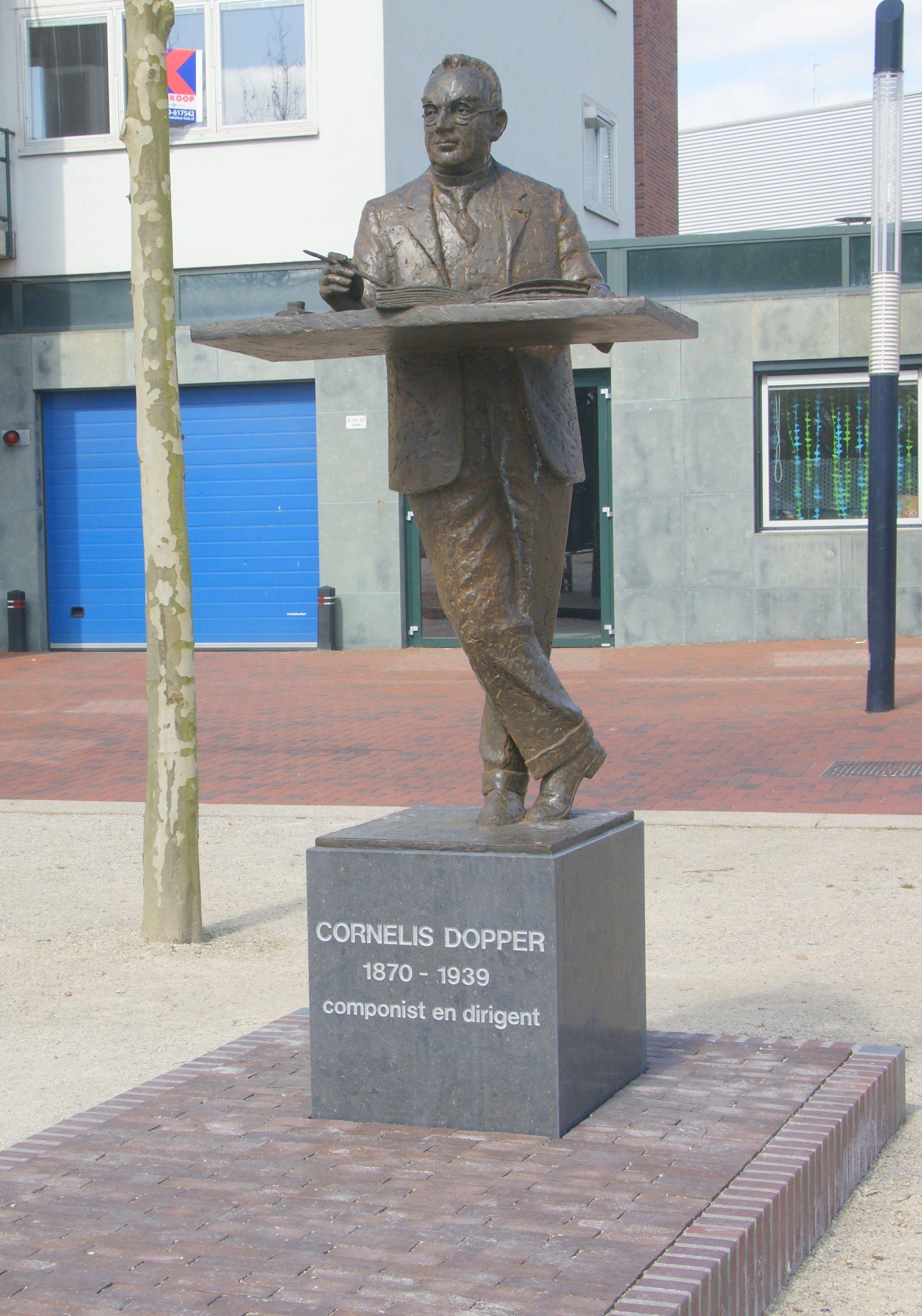 Dirigent en componist Cornelis Dopper- Loek Bos