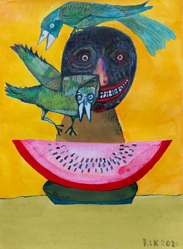 Rik van Iersel Corona Dagboek: Tamayo's Breakfast- Rik van Iersel