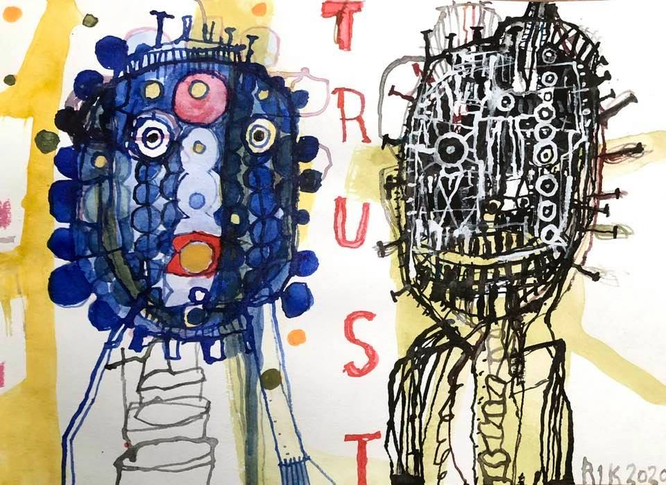Rick van Iersel Corona Dagboek: Trust Trics- Rik van Iersel