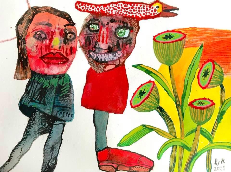 Rik van Iersel Corona Dagboek: Lekker Kopstaandertje van me- Rik van Iersel