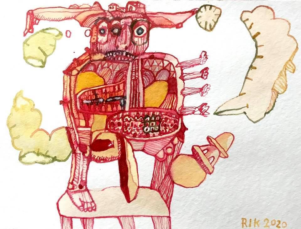 Rik van Iersel Corona dagboek: multifunctioneeltje- Rik van Iersel