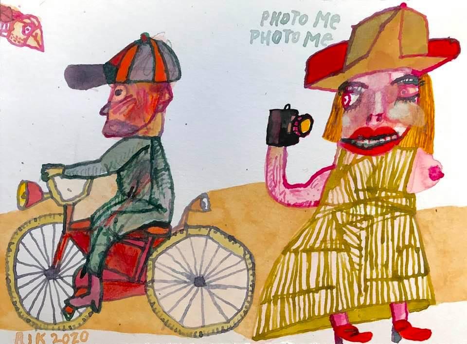 Rik van Iersel Corona Dagboek: New Bike- Rik van Iersel