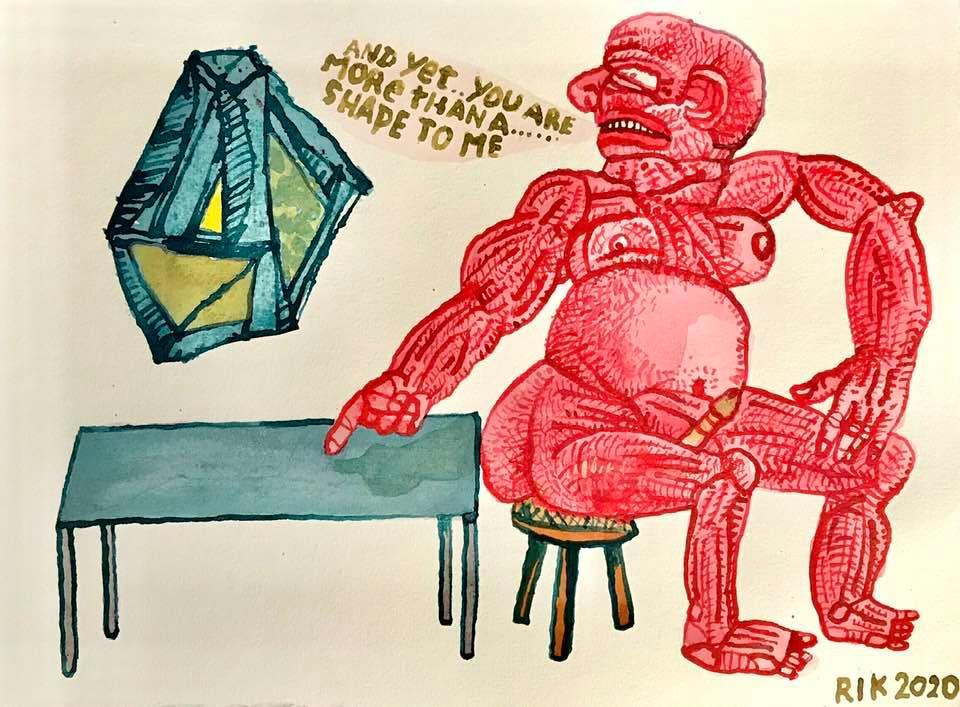 Rik van Iersel Corona Dagboek: Rednecks in the high Art- Rik van Iersel