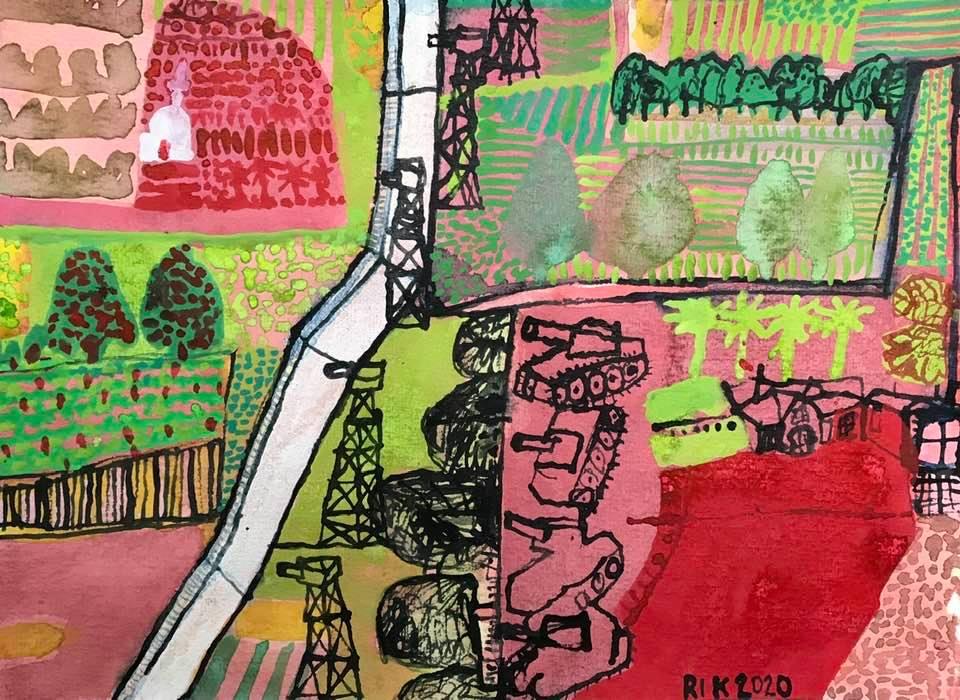 Rik van Iersel Corona Dagboek: Sacred Ground for Enclaves- Rik van Iersel