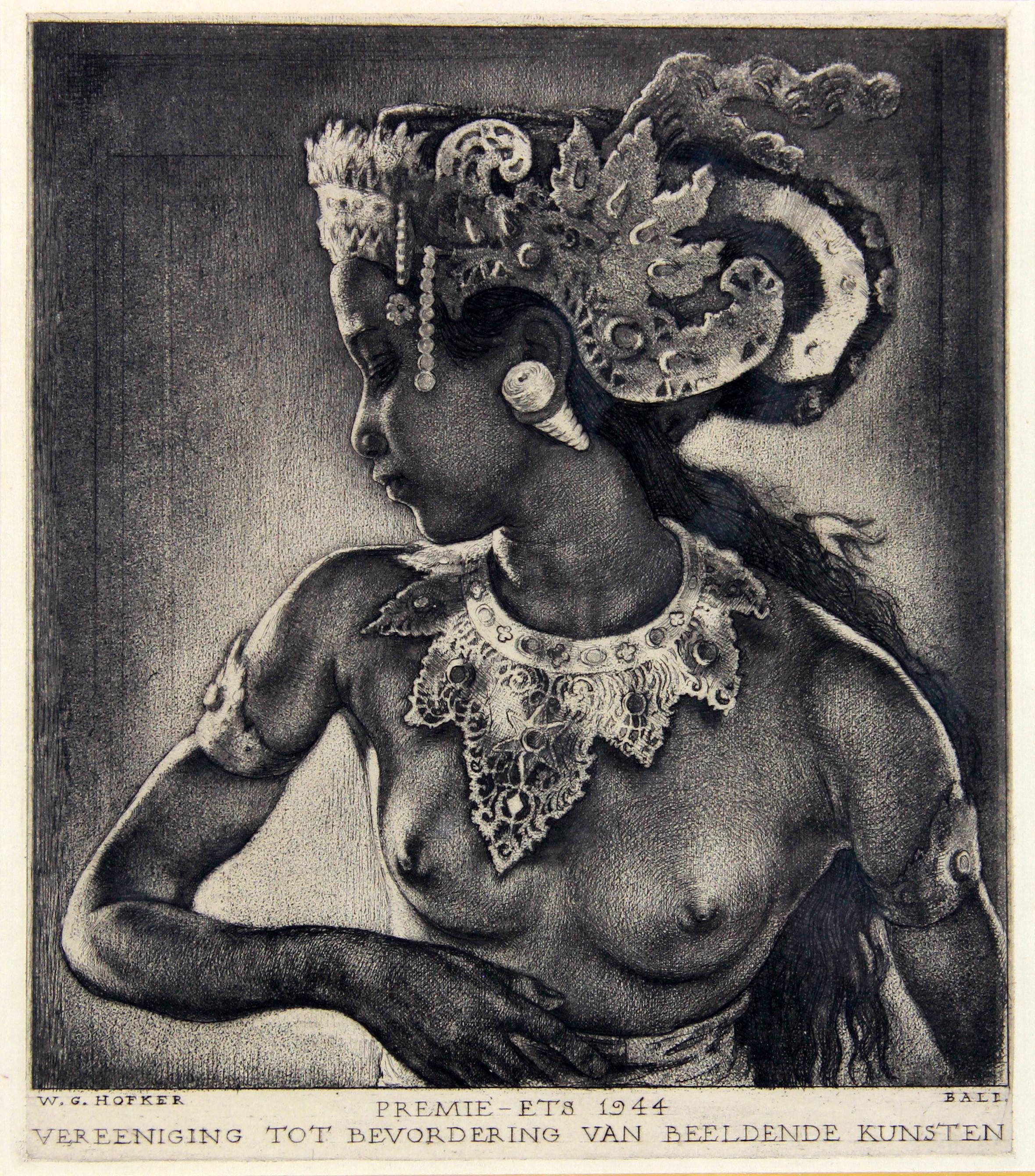 Balinese schone- Willem Gerard Hofker
