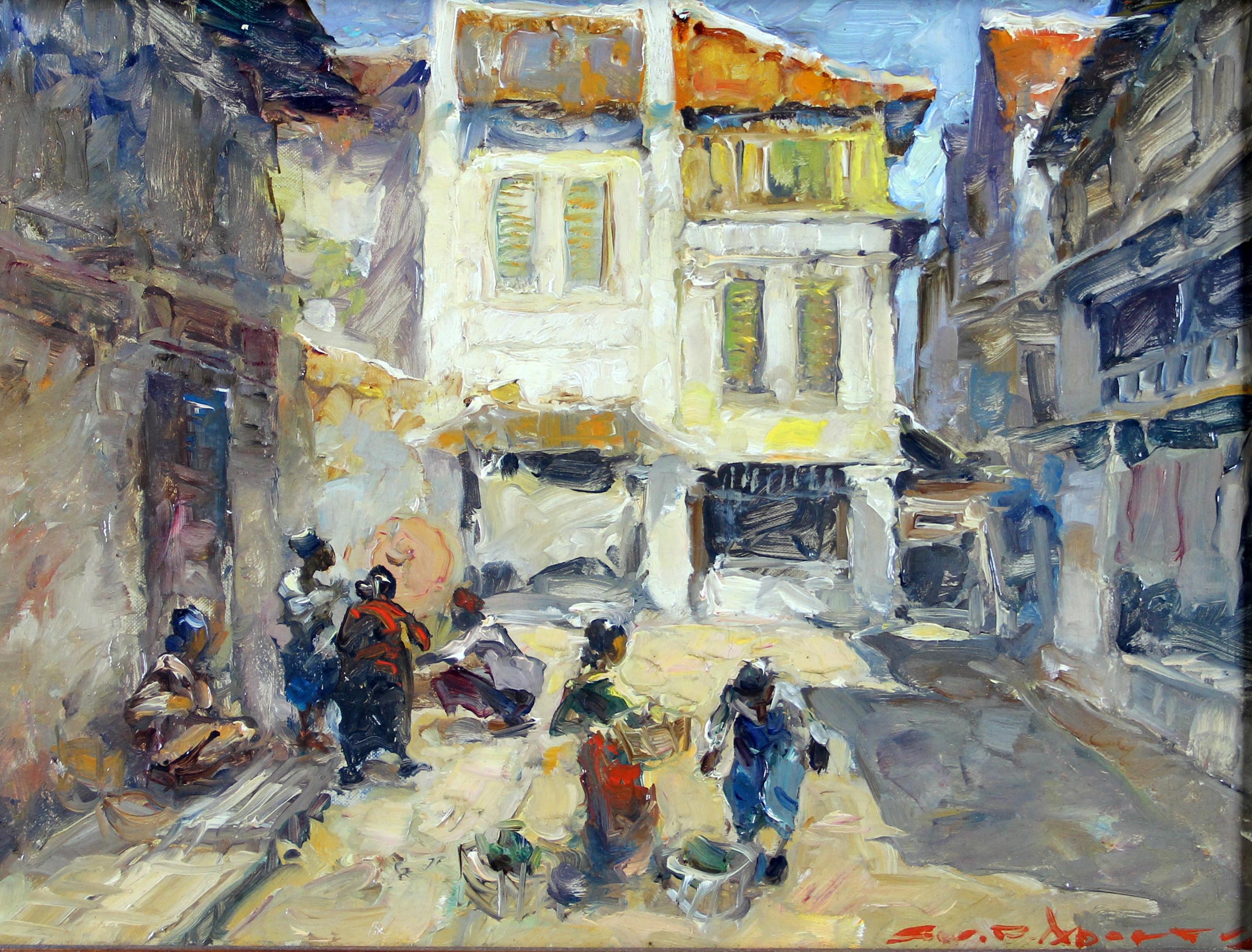 De wijk Glodok in Batavia- Gerard Pieter Adolfs