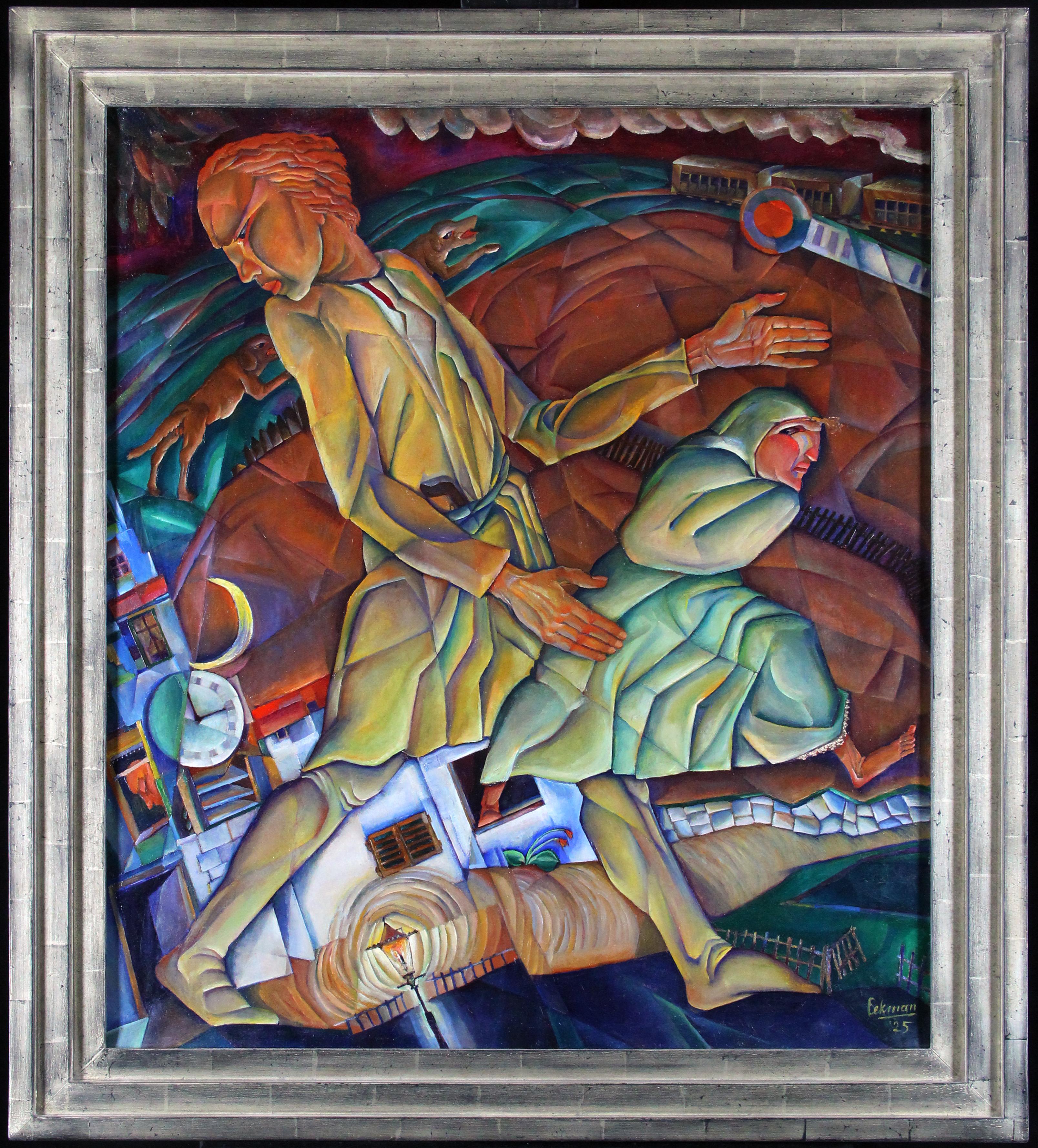 La Fuite (De ontsnapping) 1925- Nicolaas Eekman