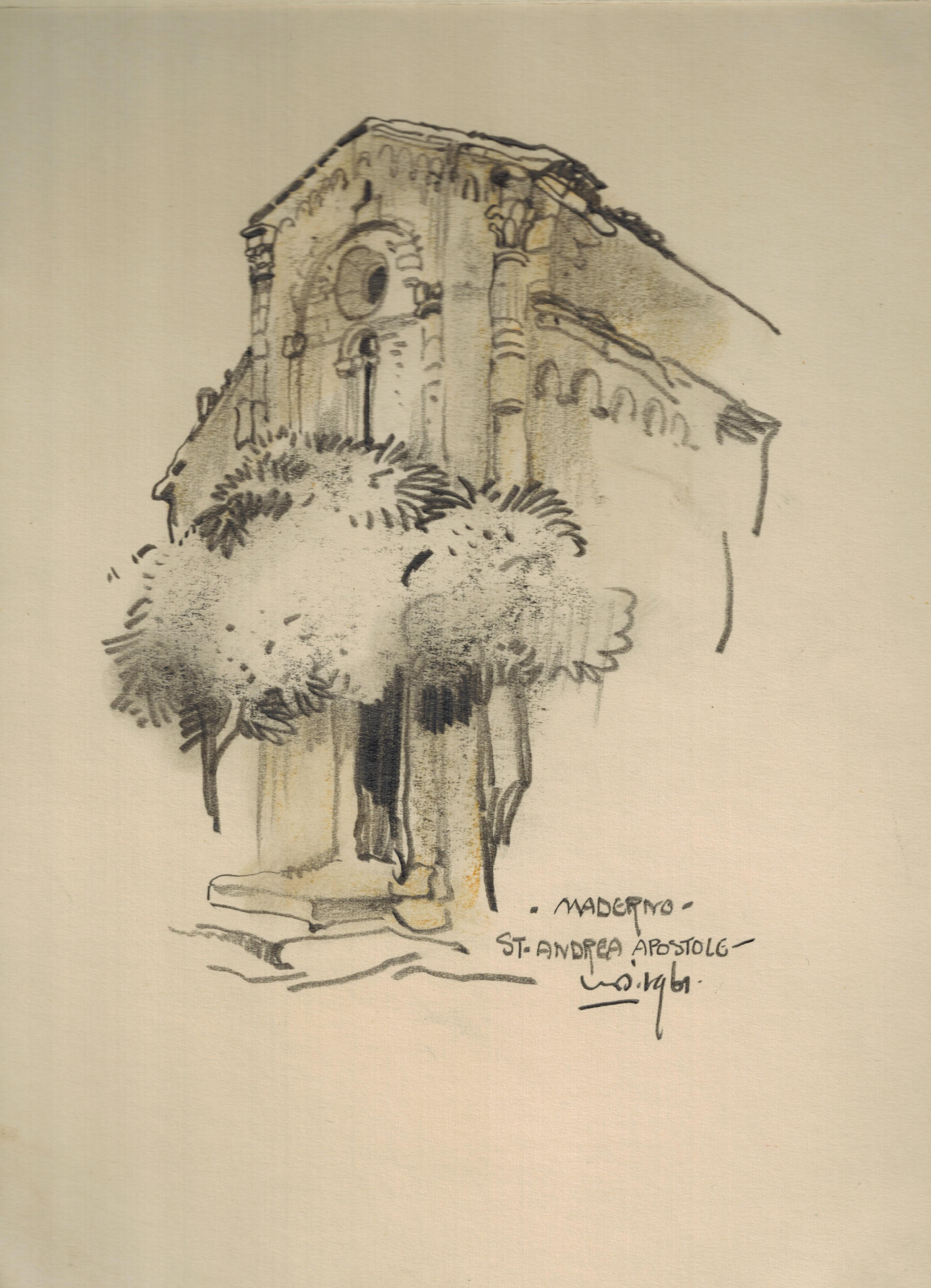 Maderno St. Andrea Apostolo Lago di Garda Italia- Willem van den Berg