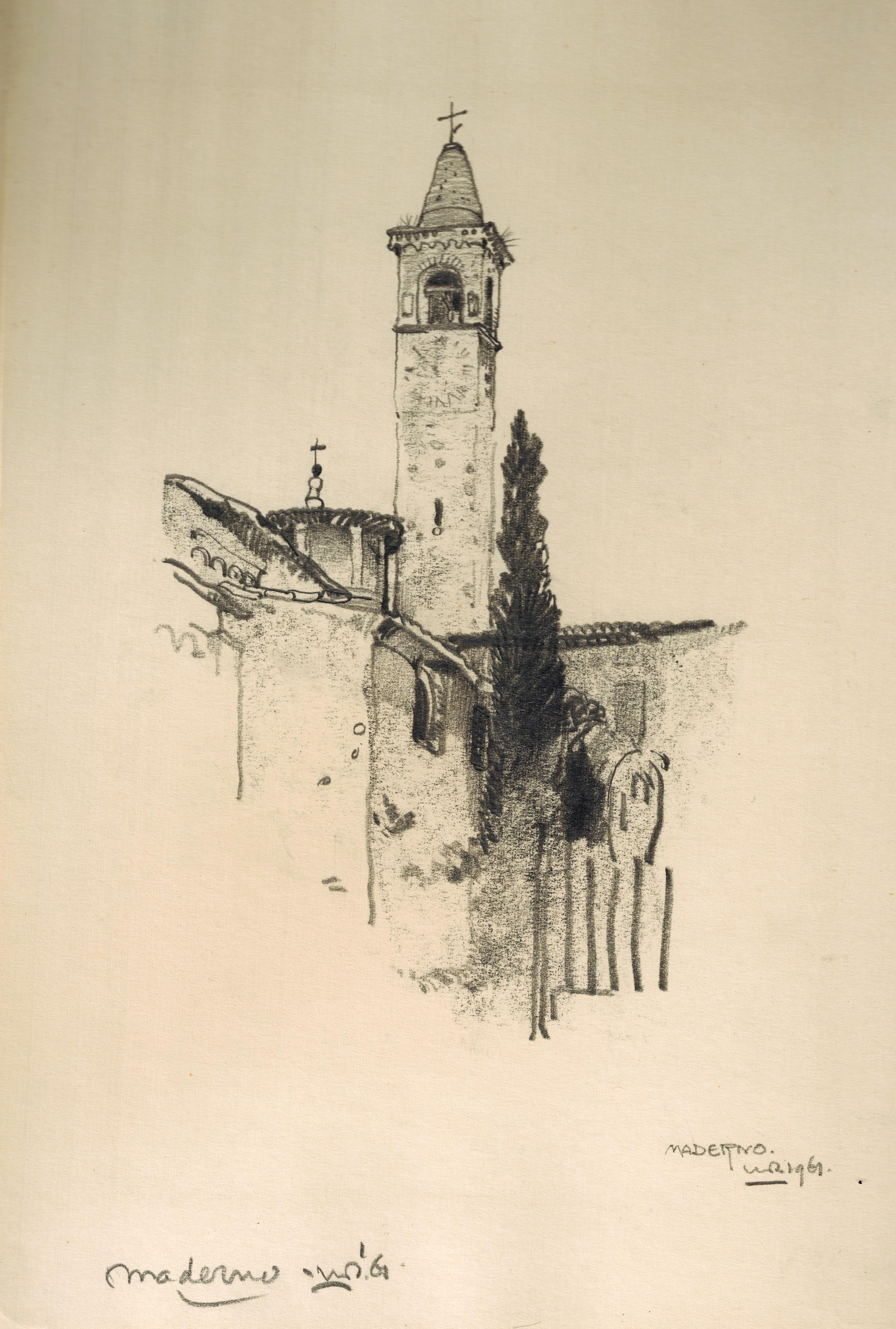 Maderno San Giovanni Church Lago di Garda- Willem van den Berg