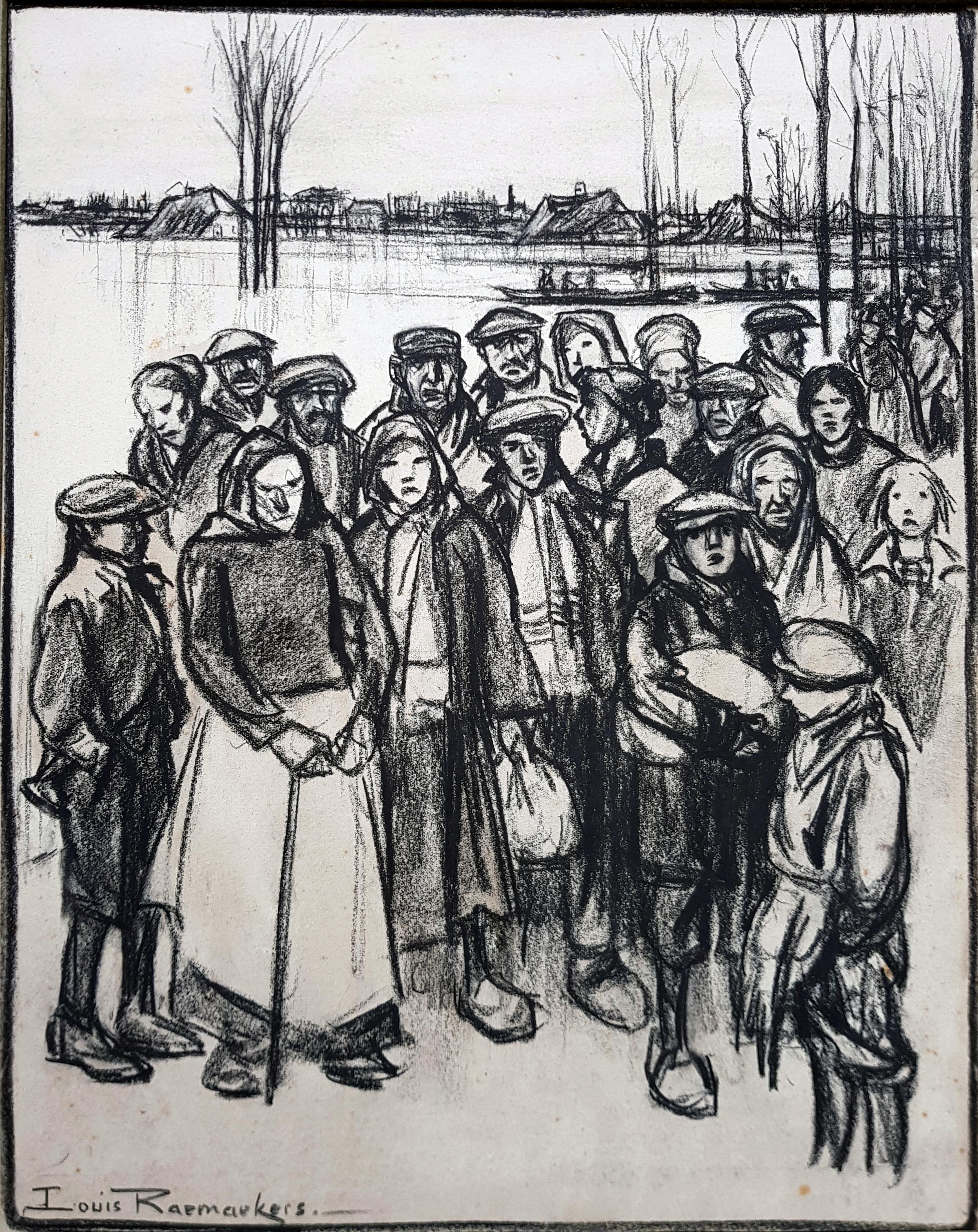 Vluchtelingen- Louis Raemaekers