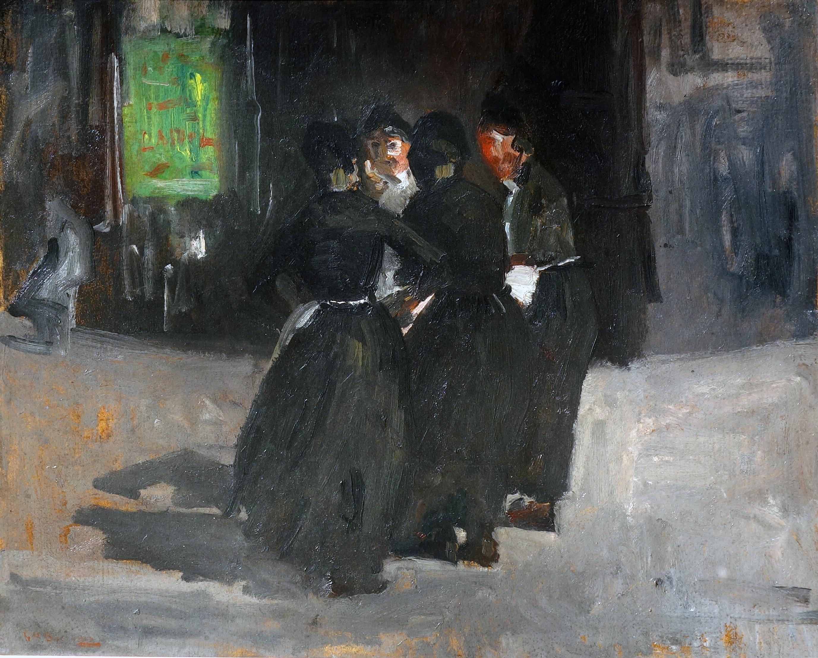 vier vrouwen in de wind- George Hendrik Breitner