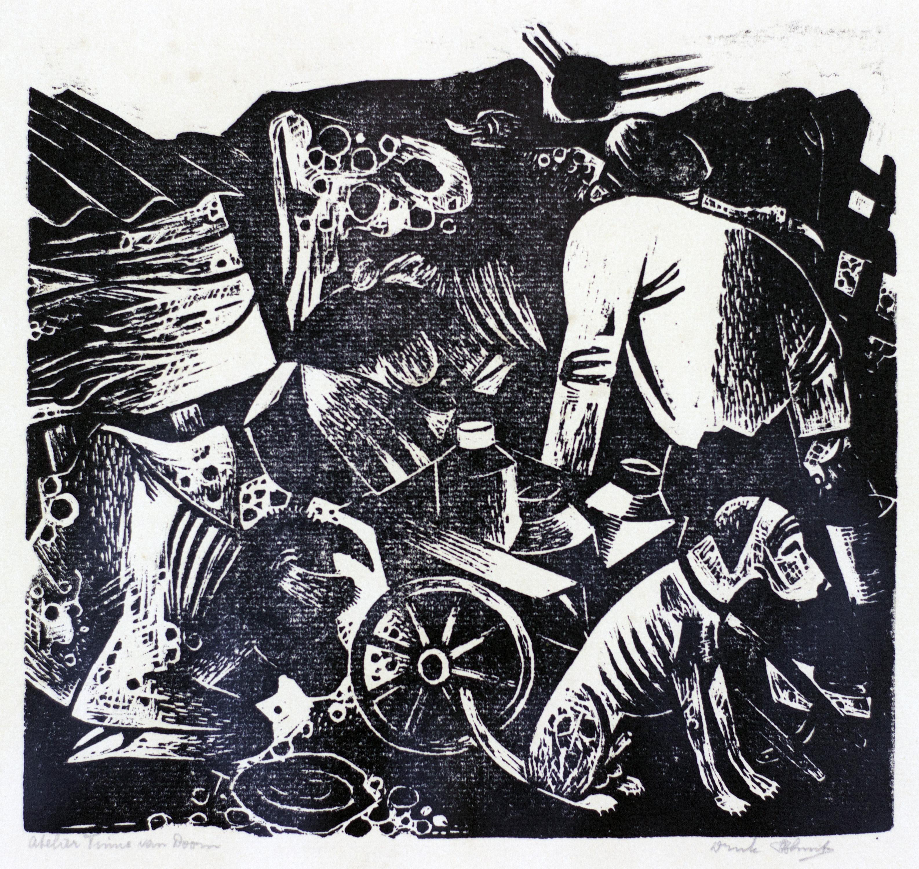 Melkwagen 1935- Tinus van Doorn