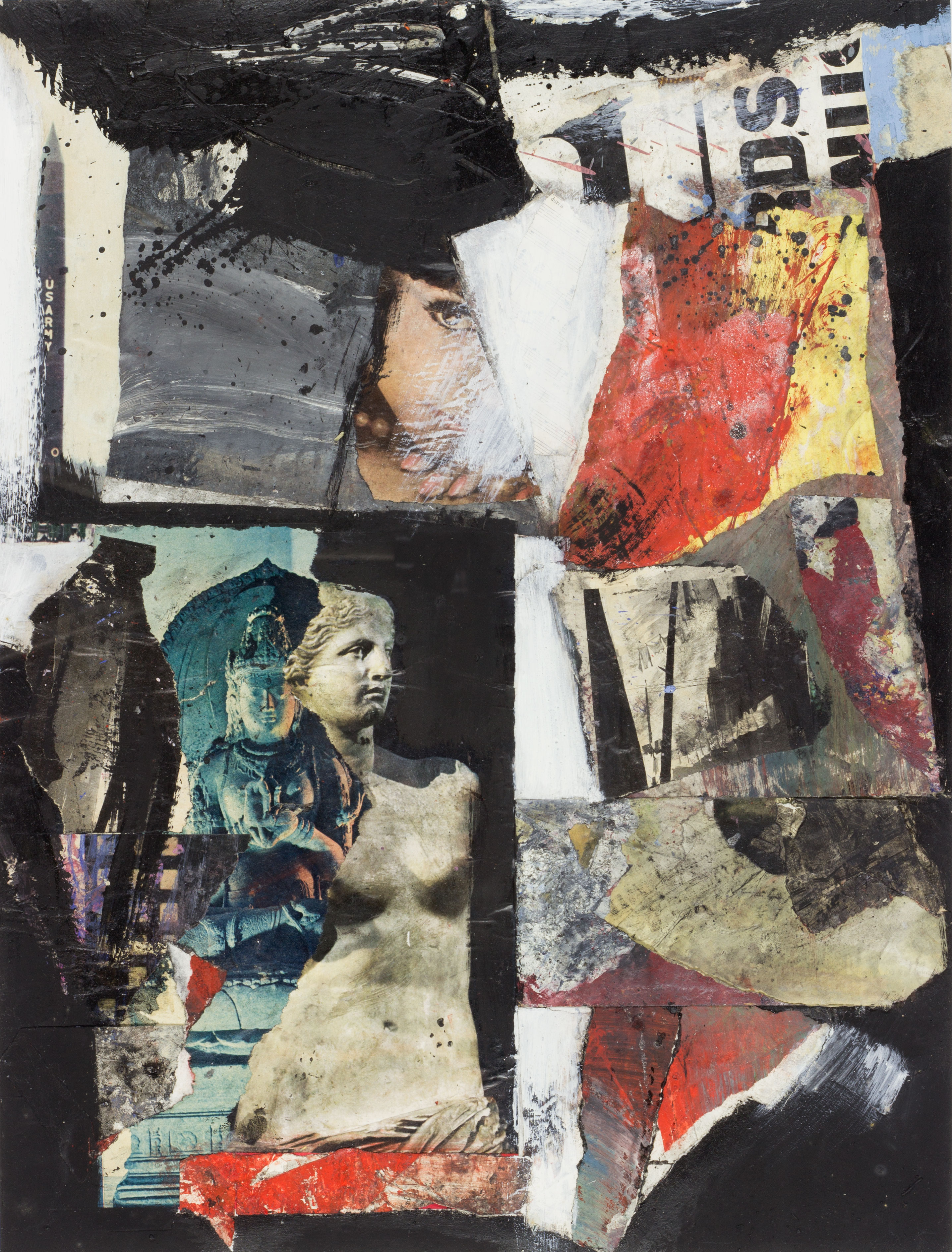 Collage 'Nike RDS' Gustave Asselbergs- Gustave Asselbergs