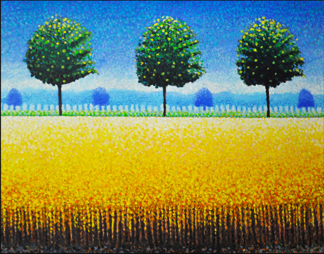Wheat Field- F.M. Hutchison
