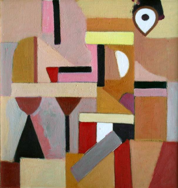 abstracte compositie- Ed Dukkers