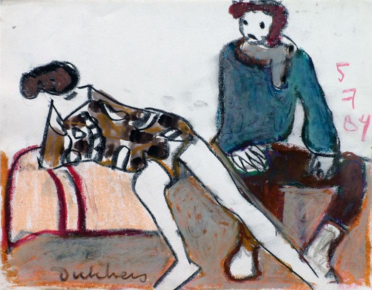 de schilder en zijn model- Ed Dukkers