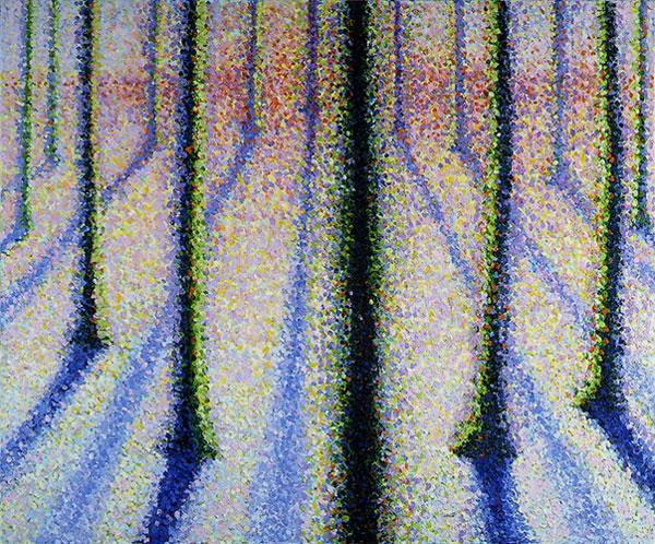 licht door de bomen- F.M. Hutchison