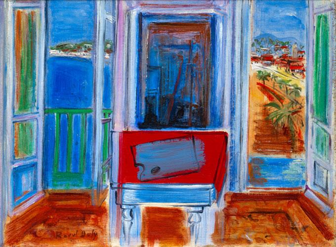 Fenêtre ouverte a Nice- Raoul Dufy