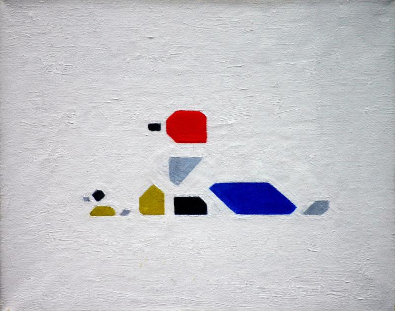Eendjes  /  Ducks- Bart van der Leck