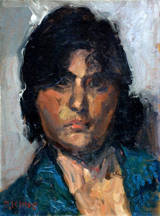 Portret van een vrouw- Reimond Kimpe