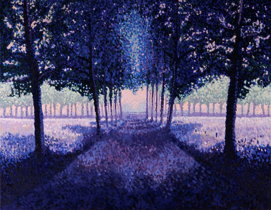 Symetrisch landschap- F.M. Hutchison