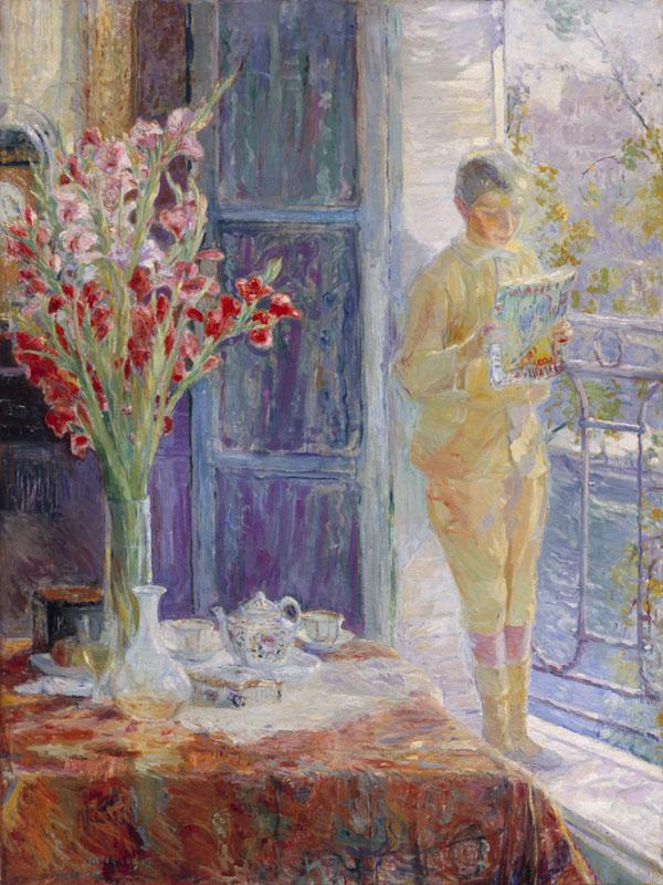 Parijs: Jongen in het raam- Maurits Niekerk