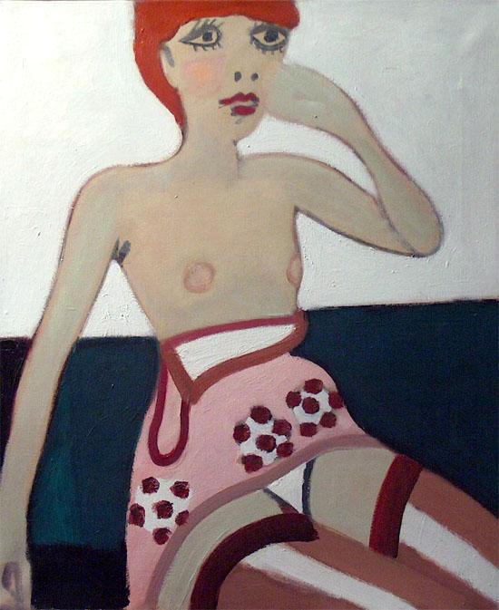 Meisje met rood haar- Ed Dukkers