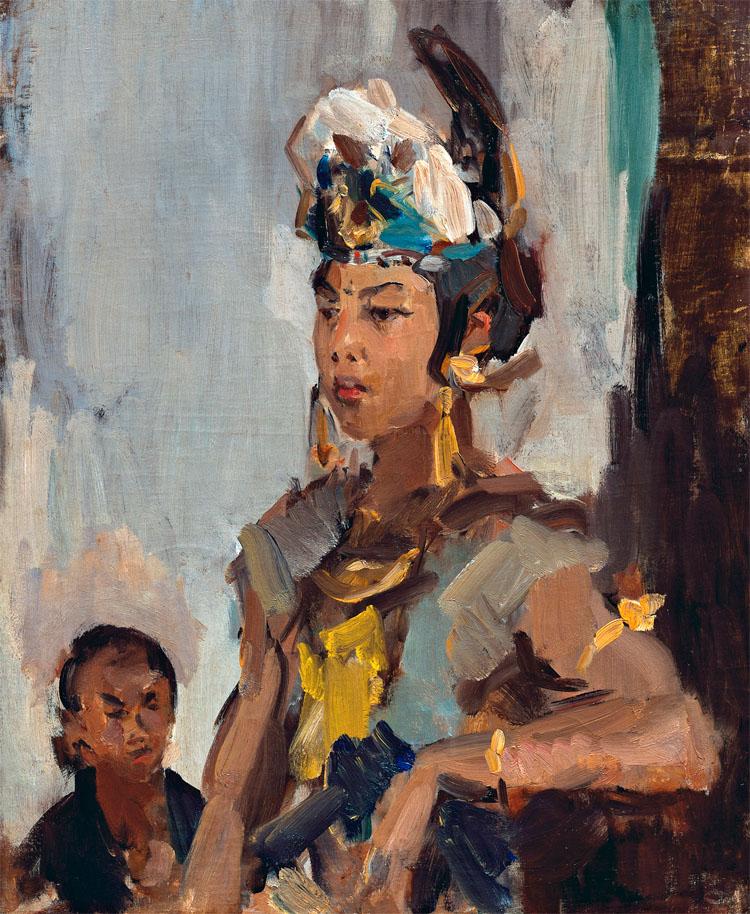 Javaanse Danseres- Isaac Israels
