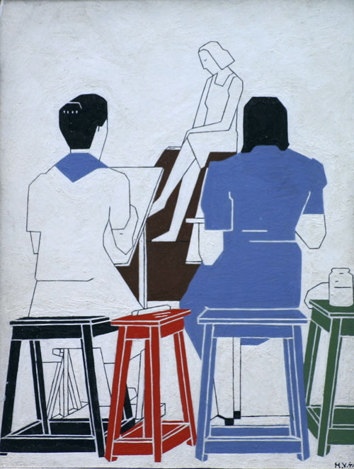 De tekenklas- Hendrik Valk