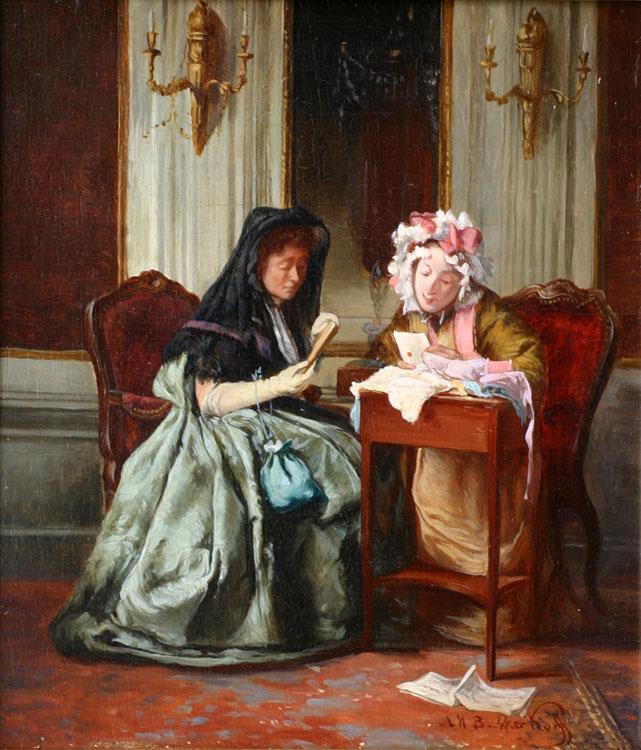 ' La Veuve '- Alexander Hugo Bakker Korff