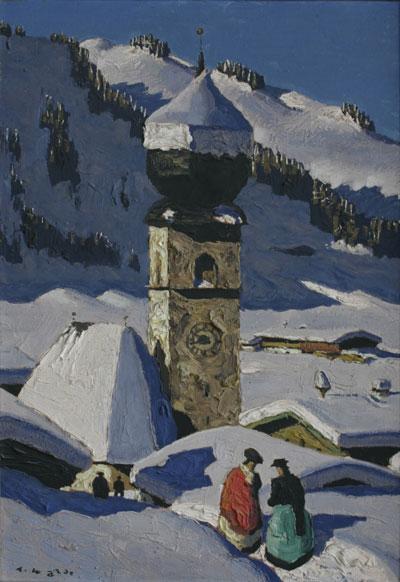 Auracher Kirchl- Alfons Walde