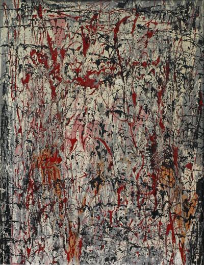 abstracte compositie- Jan J. Schoonhoven