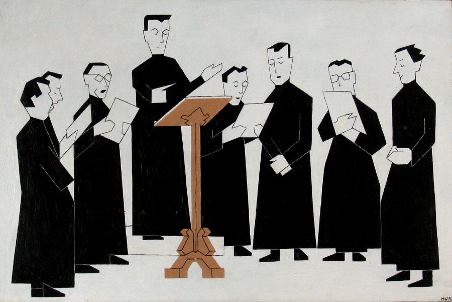 Russisch monnikenkoor- Hendrik Valk