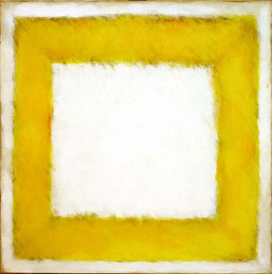 geel vierkant- Ton Frenken