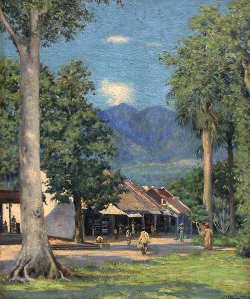 Pasar Bogor- Johannes Larij