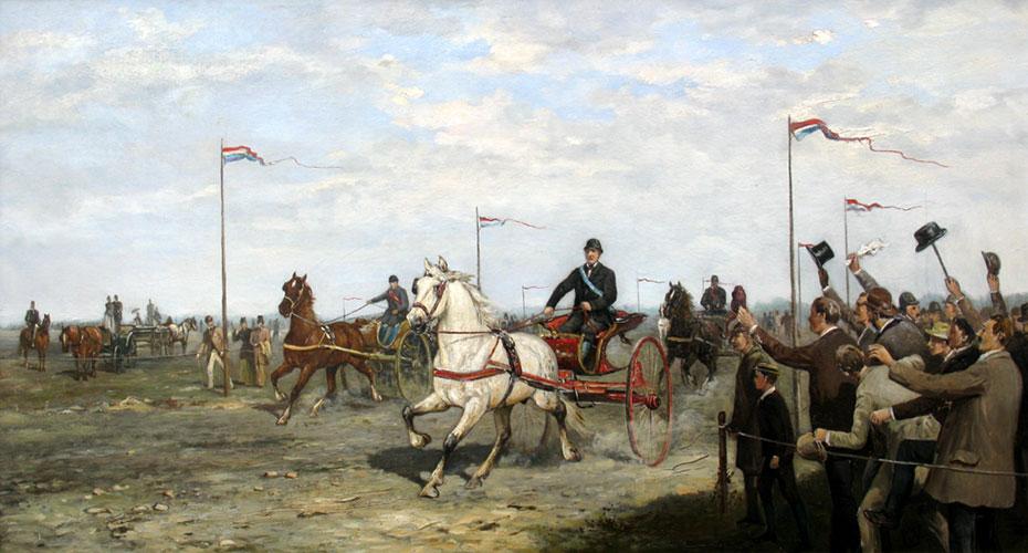 Paardenrennen- Klaas van Vliet