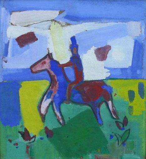 Paard en Ruiter- Gerrit Benner