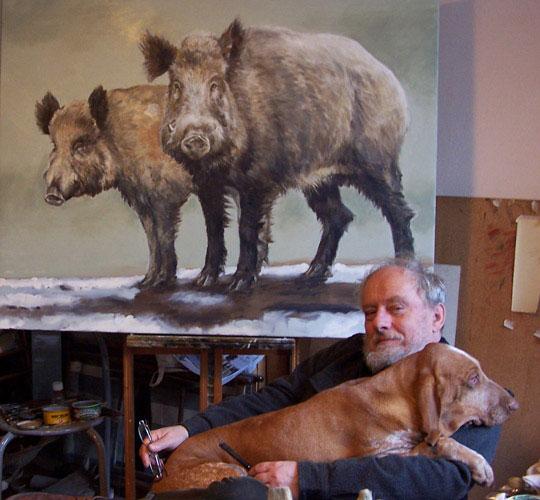 Wild Boars- Pawel Kromholz