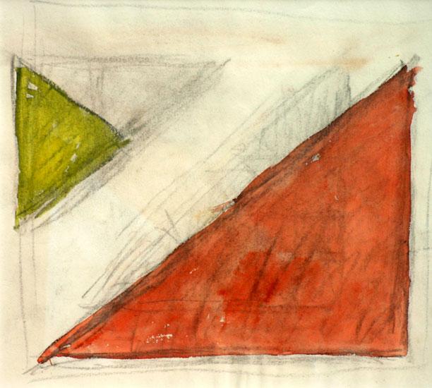 Schets voor een abstracte compositie- Bart van der Leck